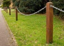 Chain fäktning Royaltyfria Foton