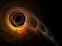 chain fractal Arkivfoto