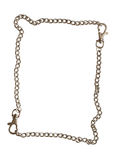 Chain frame Royalty Free Stock Image