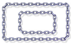 Chain frames Stock Image