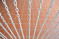 Chain gardin Arkivfoto