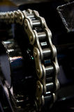 Chain gear Royalty Free Stock Images