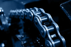 Chain gear Royalty Free Stock Photography