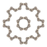 Chain gear Royalty Free Stock Image