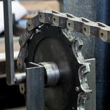 Chain and gear Stock Photos