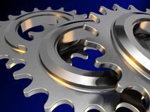 Chain gears Royalty Free Stock Photo