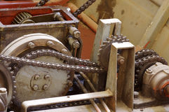 Chain gears Royalty Free Stock Photography