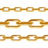Chain Gold. Vector Royalty Free Stock Image
