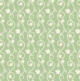 Chain of grape ivy seamless pattern Royalty Free Stock Photo