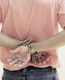 chain händer Arkivfoton