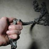 chain hand Royaltyfria Foton