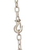 Chain with a hook Royalty Free Stock Photography