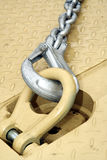 Chain with hook Royalty Free Stock Image