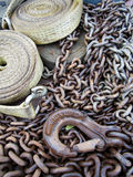 Chain, Hook & Belt Royalty Free Stock Images