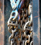 Chain and hook Royalty Free Stock Images