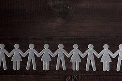 chain human Arkivfoto