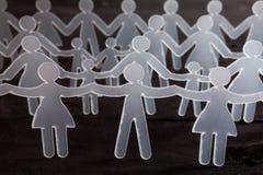 chain human Royaltyfri Fotografi