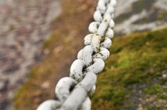 Chain of iron Royalty Free Stock Images