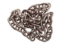 Chain isolated Royalty Free Stock Images