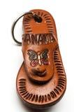 chain key panama souvenir Royaltyfri Bild