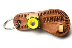 chain key panama souvenir Royaltyfria Bilder