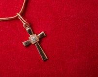 chain kors Fotografering för Bildbyråer