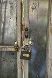 chain lås Royaltyfri Foto