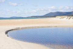 Chain of Lagoons Tasmania east coast Royalty Free Stock Image