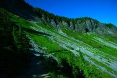Chain lake trail Stock Photography