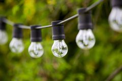 Chain of Lights Royalty Free Stock Images