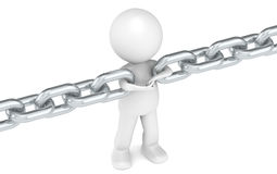 Chain Link Stock Image
