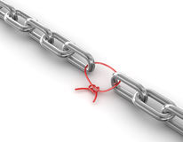Chain Link Royalty Free Stock Photography