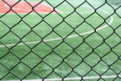 Chain link fence Royalty Free Stock Images