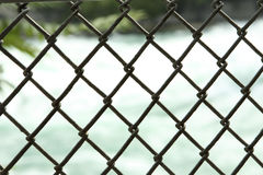 Chain link fence Stock Photo