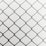 Chain Link Fence. A 3D chain link fence texture that tiles seamlessly as a pattern Stock Photography