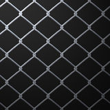 Chain Link Fence. A 3D chain link fence texture that makes a great backdrop Royalty Free Stock Photos