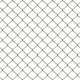 Chain Link Fence. A 3D chain link fence texture that tiles seamlessly as a pattern in any direction Royalty Free Stock Photography