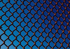 Chain Link Fence Background Pattern Royalty Free Stock Photo