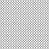 Chain link Fence, Braid wire fence texture, seamless pattern vector. Grid metal chain-link Royalty Free Stock Photos