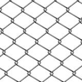 Chain-link fence pattern 3d realistic vector vector illustration
