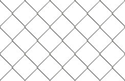 Chain link fence pattern. Industrial style wallpaper. Realistic geometric texture. Graphic design element for corporate identity, web sites, catalog. Steel Royalty Free Stock Image