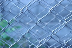 Chain link fence seamless nested beautifully Stock Photography