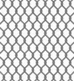Chain link fence texture. On white backgound Stock Photo
