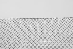 Chain link fence wire netting Stock Photography