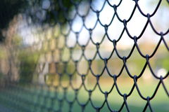 Chain link fencing Cyclone Fence Royalty Free Stock Images