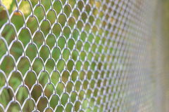 Chain link fencing Cyclone Fence Royalty Free Stock Photography