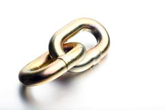 Chain link high-key Royalty Free Stock Photography