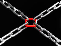 Chain link Stock Photos