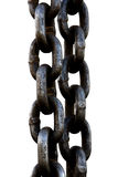 Chain link isolated Royalty Free Stock Photos