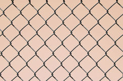 Chain Link on Pink Royalty Free Stock Photography